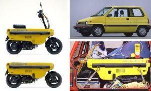 Форд запатентовал автомобиль со встроенным мотоциклом. Для чего?