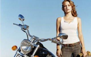 Ты девушка и покупаешь свой первый мотоцикл? Проверь, что тебе нужно