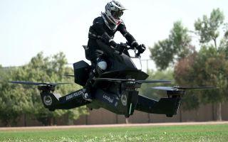 Японская компания начнет серийное производство летающих мотоциклов