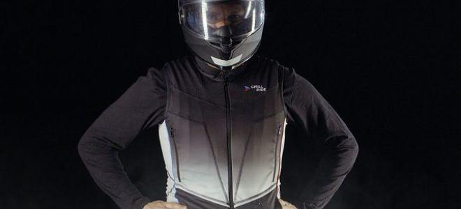Жилет охлаждения и обогрева для мотоциклистов. Как это работает
