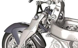Как работает мотоцикл: подвеска переднего колеса