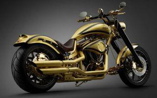 Goldfinger – самый дорогой мотоцикл в мире