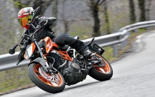 Тест мотоцикла KTM Duke 390