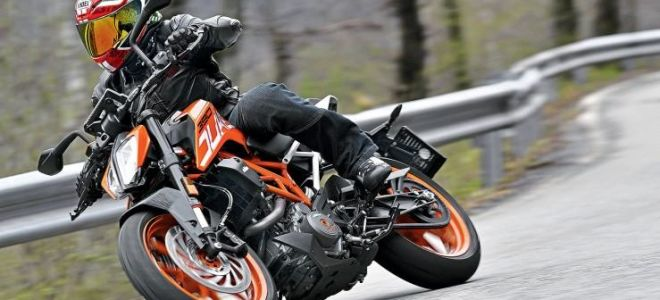 Тест KTM 390 Duke