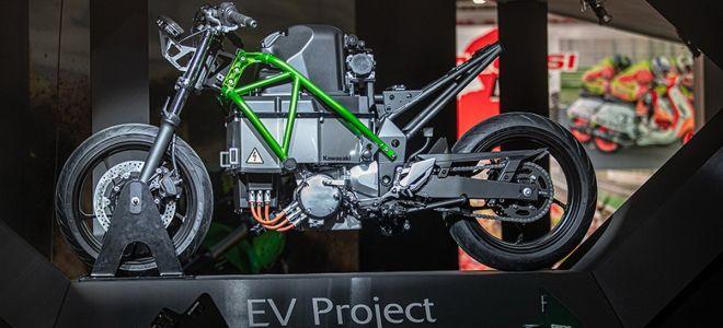 Kawasaki запатентовала название E-Boost. Ждем гибриды?