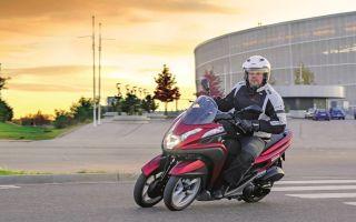 Yamaha Tricity: новый японец на трех колесах