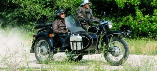 Мотоциклы Днепр и Урал