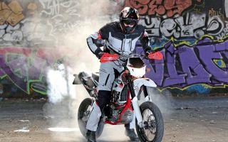 AJP PR5 Supermoto 250 – первый шаг в ад