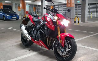 GSX-S750 – хороший мотоцикл от Suzuki для начинающих