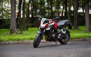 Honda CB650F – нежный уличный истребитель