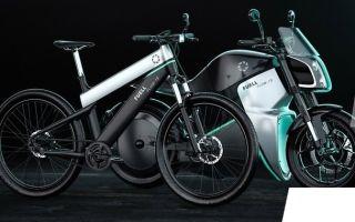 FUELL – проект городского электрического мотоцикла от Alfa Romeo