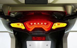 Технология OLED на мотоциклах BMW