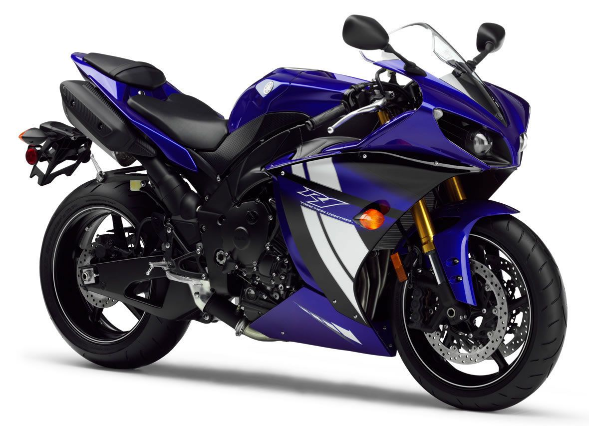Yamaha R1 фото сбоку