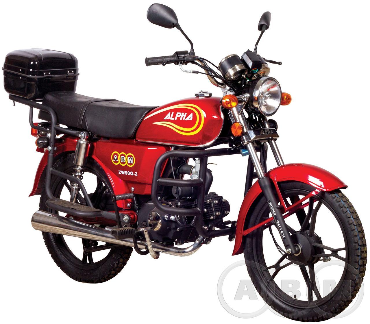 Мотоциклы объемом 50 кубов и их особенности, фото