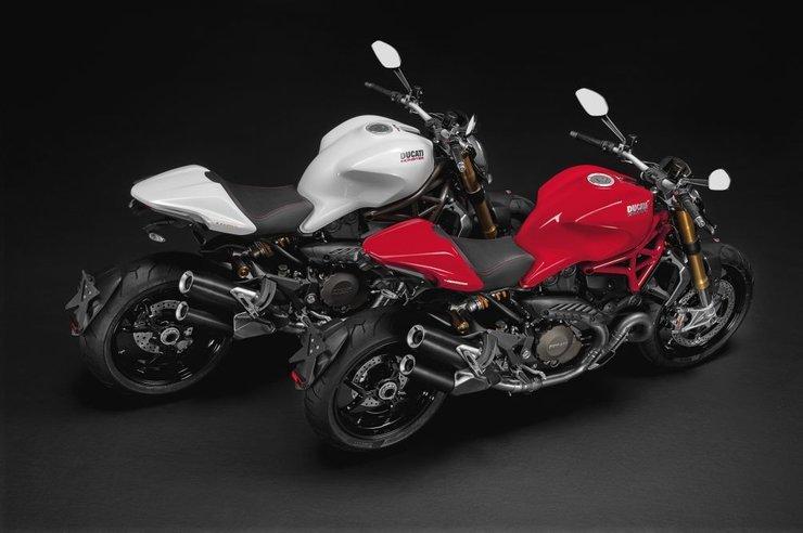 Мотоцикл Ducati Monster 1200 мото