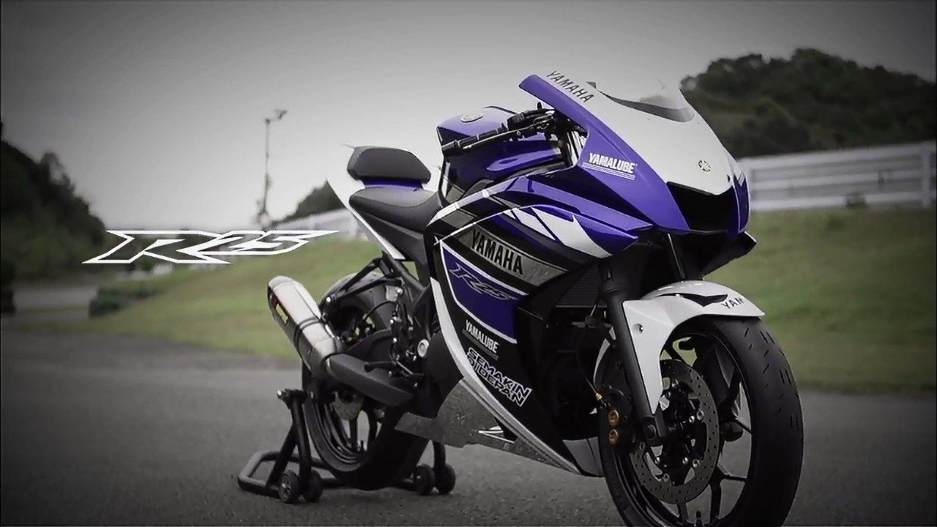 Yamaha R25 мото