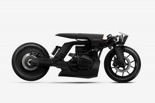 Одна из разроботок Barbara Custom Motorcycles