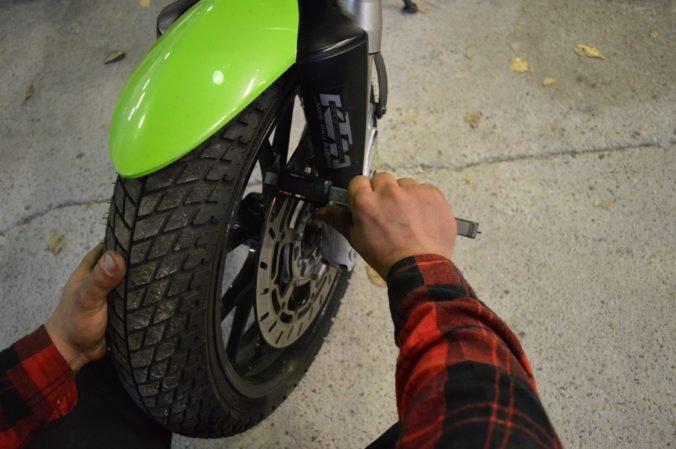 Тормоза на мотоцикле