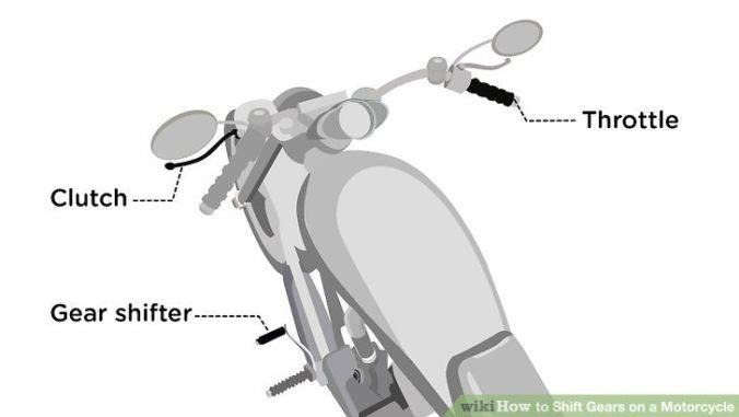 Сцепление на мотоцикле