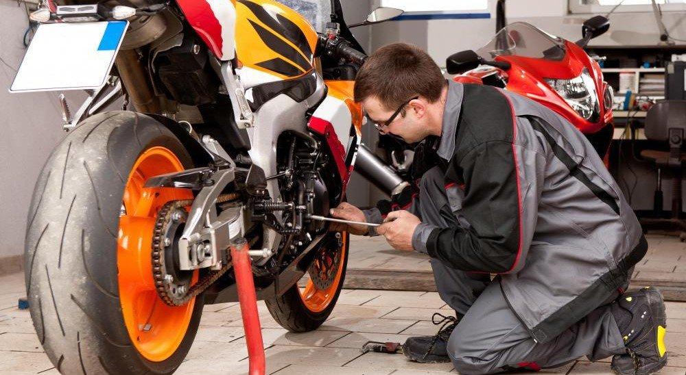 Проверьте мотоцикл
