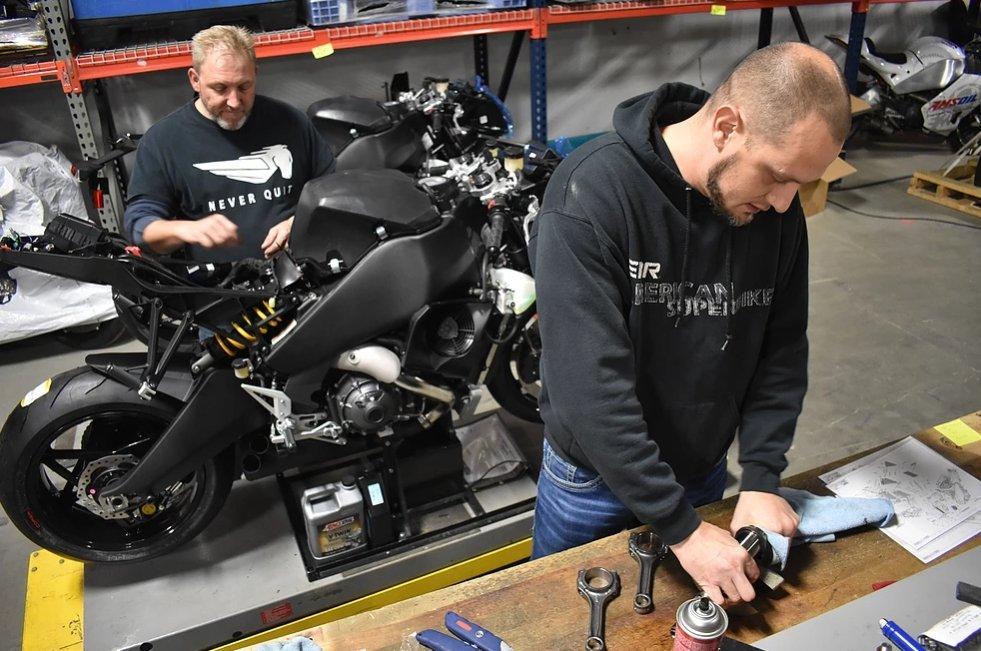 EBR Motorcycles 2019