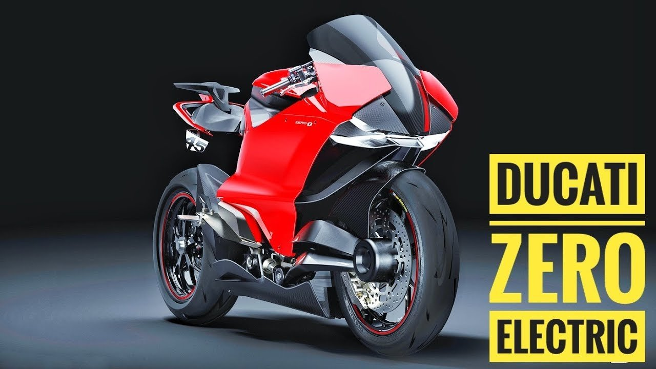 Электроцикл Ducati