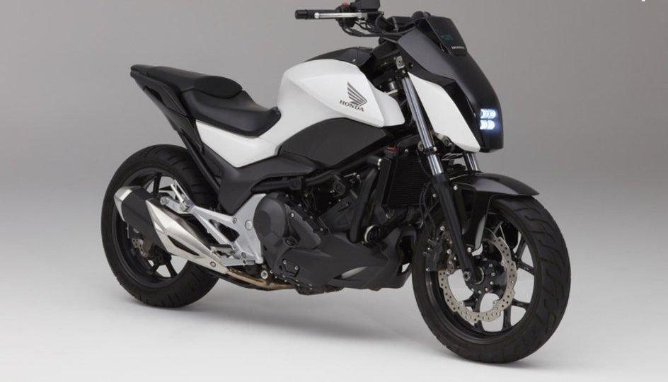 Honda создала самовыравнивающийся мотоцикл