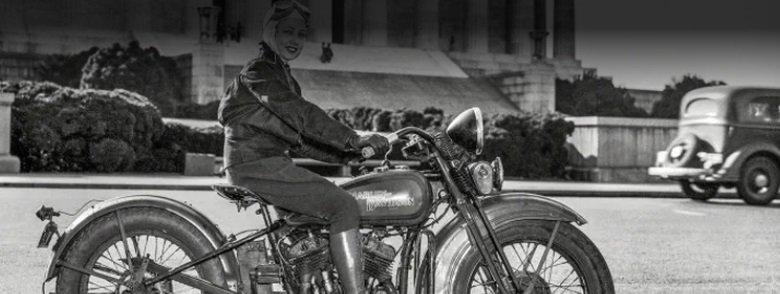 женщина с мотоправами
