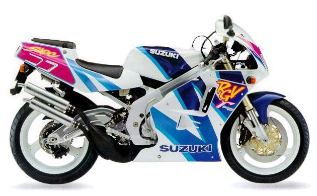 мотоциклы 90-х