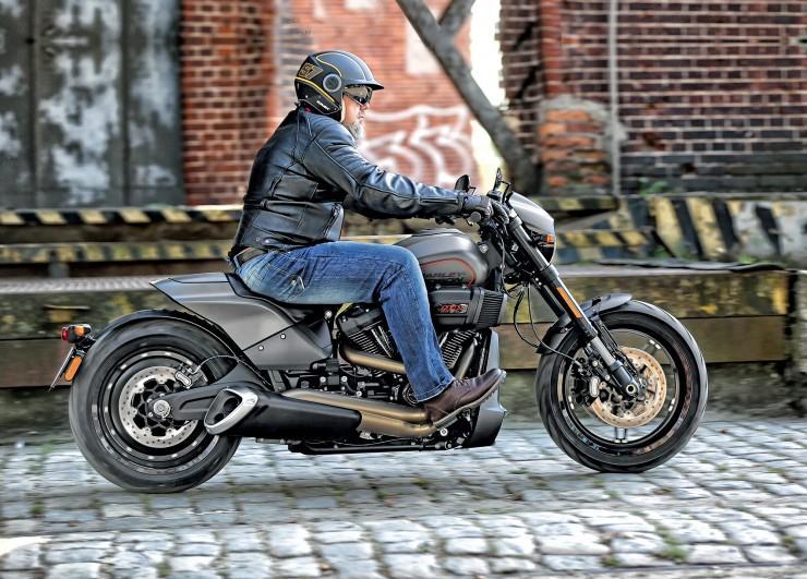 Harley-Davidson FXDR, мотоцикл харлей