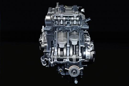 Yamaha MT-07 двигатель