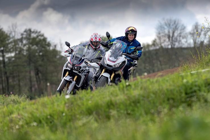 Скутер против мотоцикла