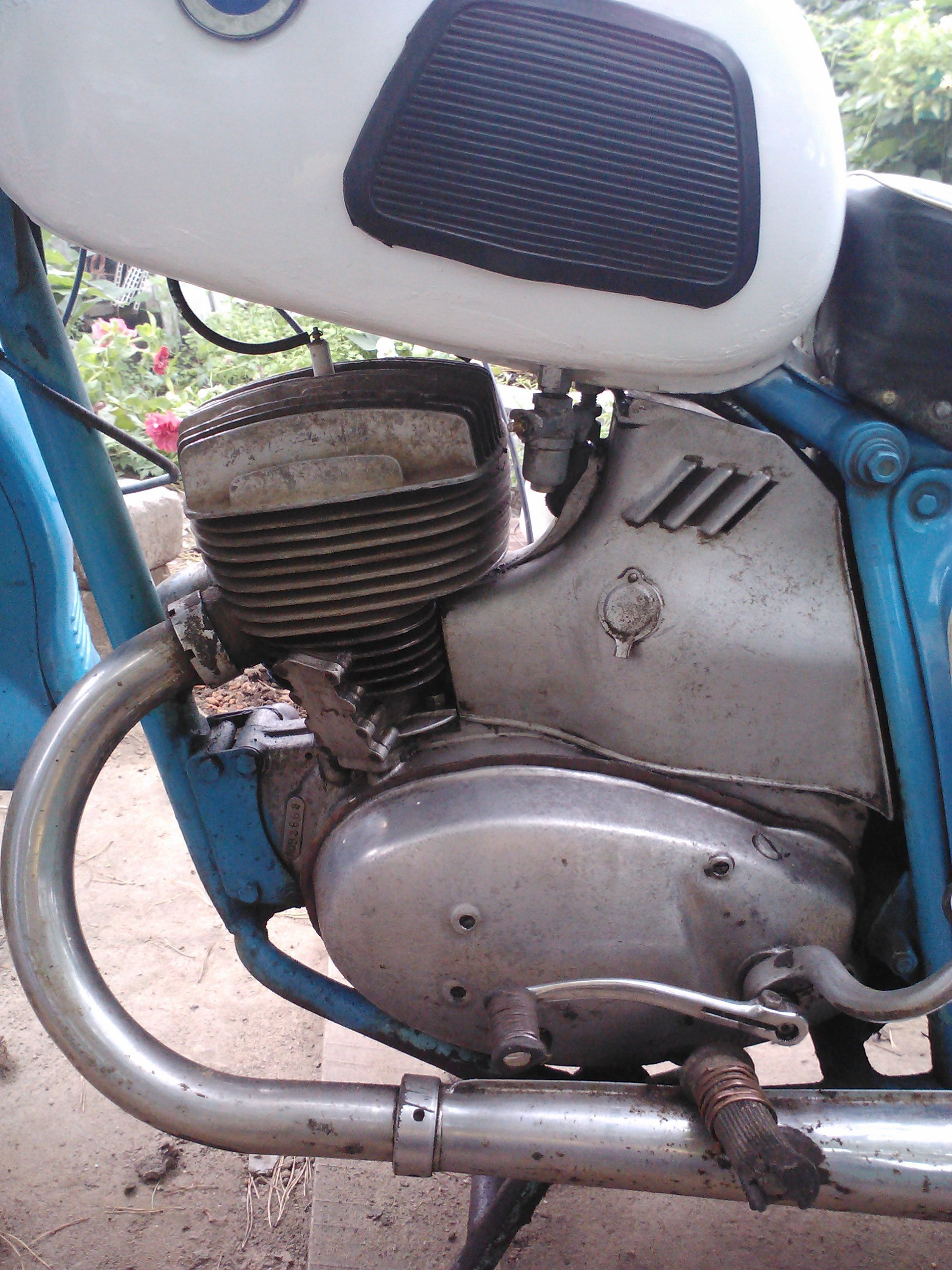 мотоцикл не заводится