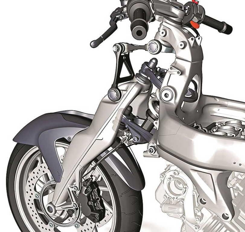 передняя подвеска мотоцикла