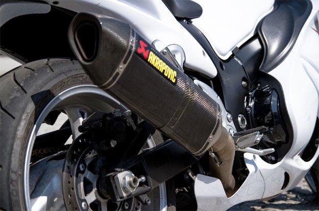 Выхлопная труба мотоцикла