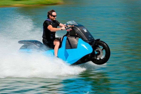 Мотоцикл амфибия Biski