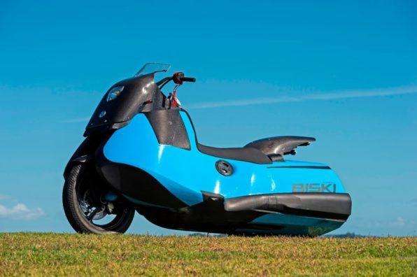 Мотоцикл амфибия Biski внешний вид