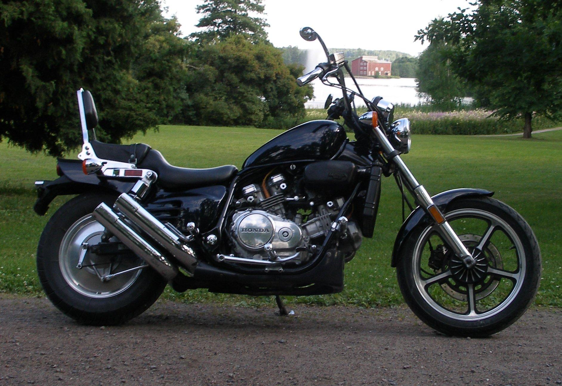 мотоцикл магна