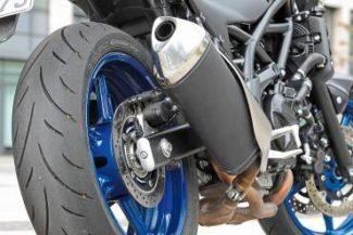 Выхлопная труба мотоцикла Suzuki SV 650