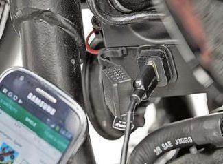 Зарядка для мобильного телефона