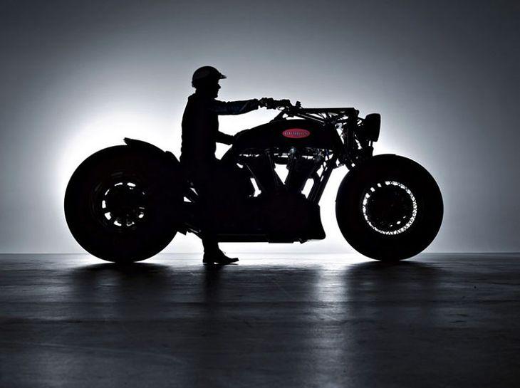 Самый большой мотоцикл Leonhardt