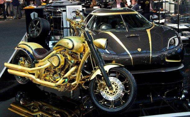 Мотоцикл Goldfinger