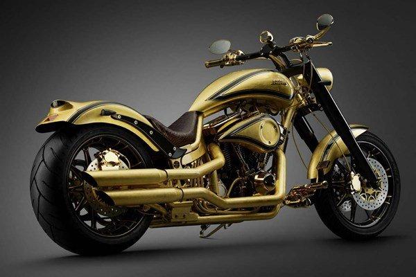 Самый дорогой мотоцикл Goldfinger