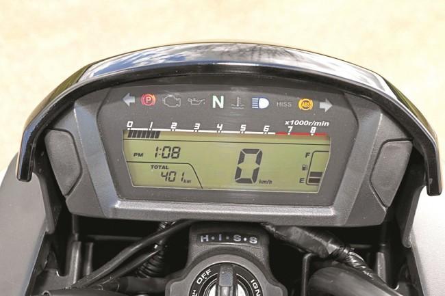 Приборная панель Honda CTX