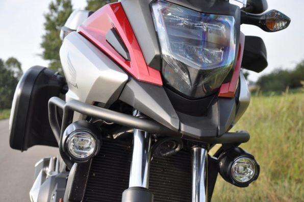 Вид спереди мотоцикла
