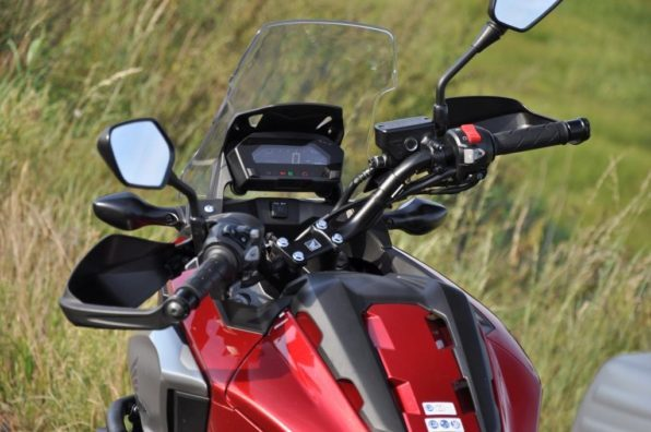 Рулевое управление мотоцикла