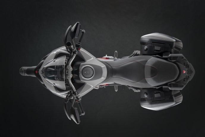 Ducati Multistrada 950 S вид сверху