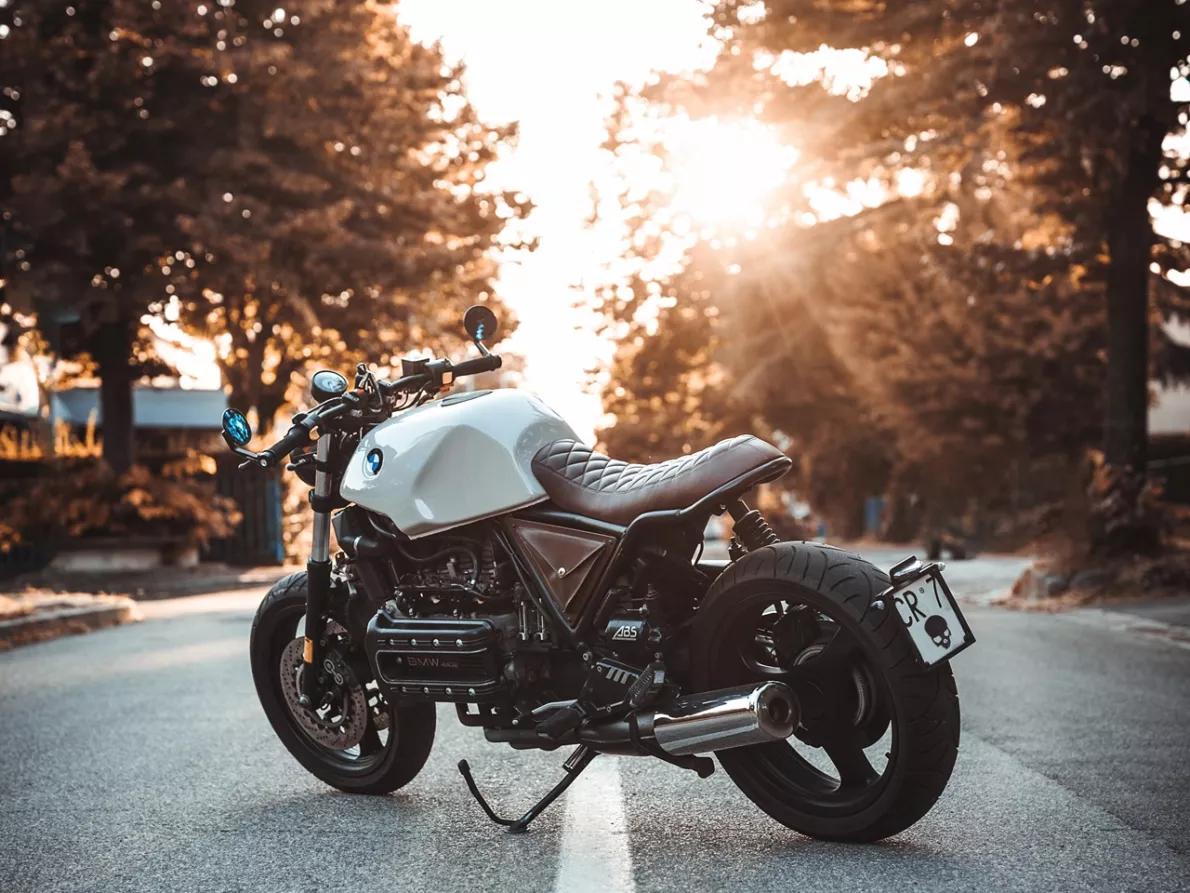 подержанный мотоцикл