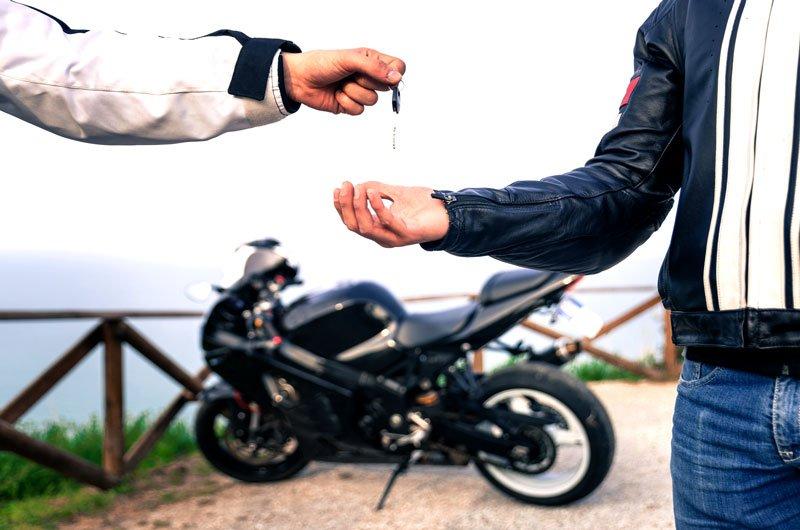 купить подержанный мотоцикл