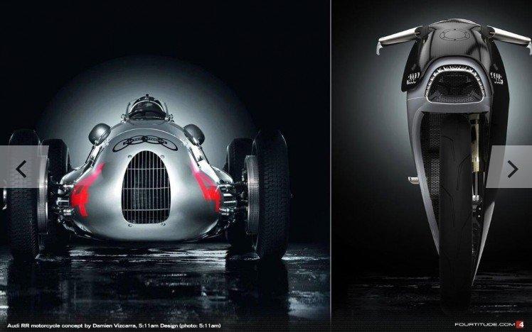 Audi RR мотоцикл